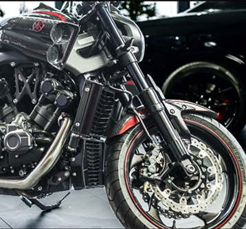 Yamaha VMAX by Carlex design Europe
